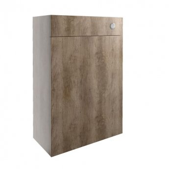 Signature Oslo Back to Wall WC Toilet Unit 600mm Wide - Nebraska Oak