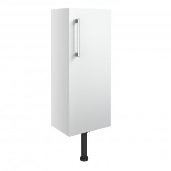 Signature Oslo Floor Standing 1-Door Slim Base Unit 300mm Wide - White Gloss