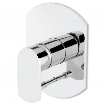 Signature Plavis Built In Concealed Shower Valve with Diverter Two Outlet - Chrome