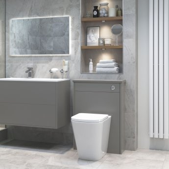 Signature Poseidon Back to Wall Rimless Toilet 360mm Wide - Soft Close Seat