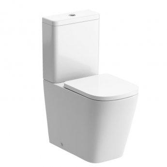 Signature Poseidon Close Coupled Rimless Toilet with Cistern - Soft Close Seat