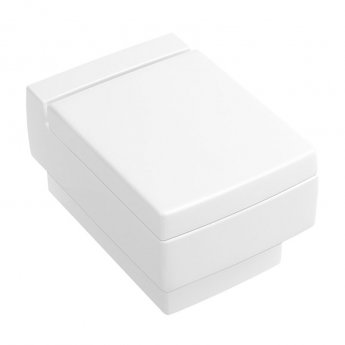 Signature Wall Hung Toilet Pan with Soft Close Seat - 550mm Depth