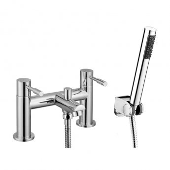 Signature Puro Bath Shower Mixer Tap Deck Mounted - Chrome