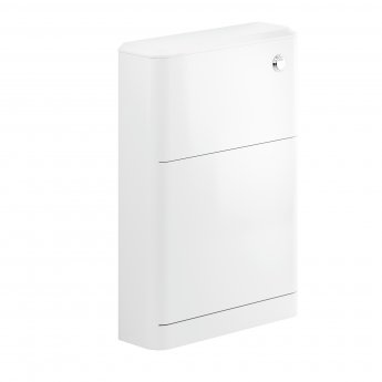 Signature Randers Back to Wall WC Toilet Unit 550mm Wide - White Gloss