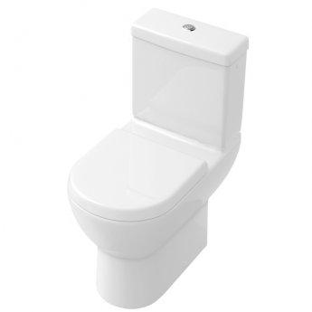 Signature Simple Close Coupled Toilet with Dual Flush Cistern Soft Close Seat