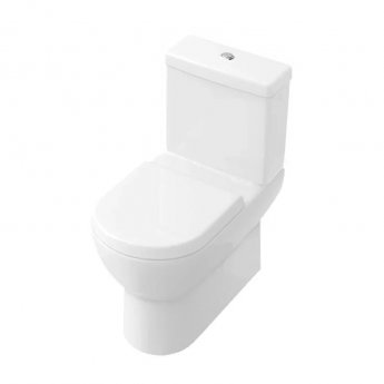 Signature Simple Close Coupled Back to Wall with Dual Flush Cistern Soft Close Seat