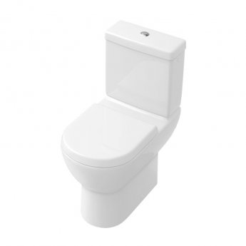 Signature Simple Close Coupled Toilet with Dual Flush Cistern