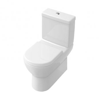Signature Simple Flat To Wall Close Coupled Pan with Dual Flush Cistern