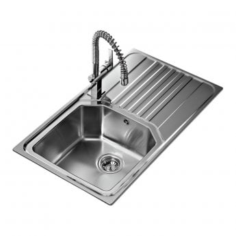Signature Teka Premium 1.0 Bowl Kitchen Sink with Waste Kit 860 L x 500 W - Stainless Steel