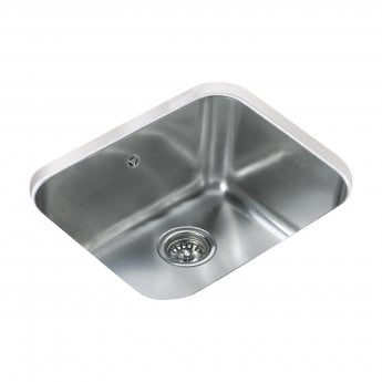 Signature Teka 1.0 Bowl Undermount Kitchen Sink with Waste Kit 530 L x 430 W - Stainless Steel
