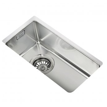 Signature Teka 1.0 Bowl Undermount Kitchen Sink with Waste Kit 217 L x 437 W - Stainless Steel