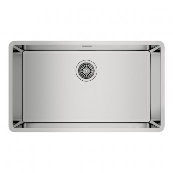 Signature Teka Linea 1.0 Bowl Undermount Kitchen Sink with Waste Kit 750 L x 440 W - Stainless Steel