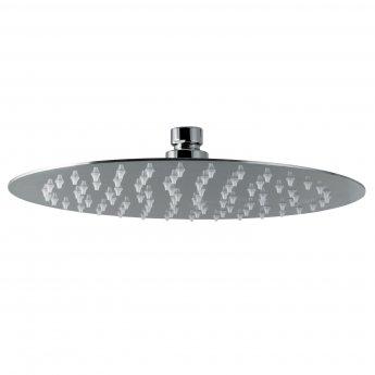 Signature Tiber Round Shower Head 250mm Diameter - Stainless Steel