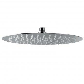 Signature Tiber Round Shower Head 300mm Diameter - Stainless Steel