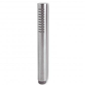 Signature Tiber Round Shower Handset - Stainless Steel