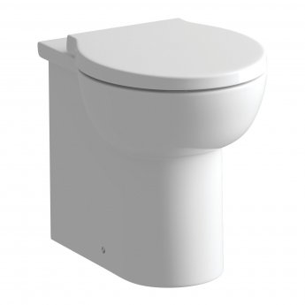Signature Tikal Back To Wall Toilet 380mm Wide - Soft Close Seat