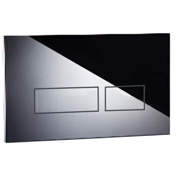 Signature Easi-Plan Trend 2 Dual Flush Plate - Chrome