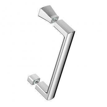 Signature Vibrance Single Door Offset Quadrant Shower Enclosure 1200mm x 800mm - 6mm Glass