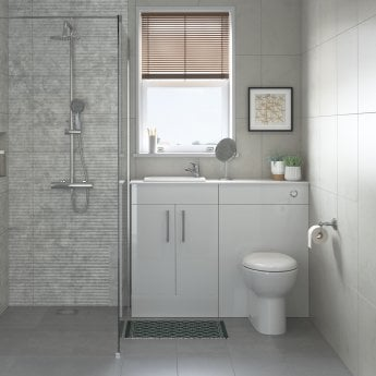 Signature Zeus Back To Wall Toilet 353mm Wide - Soft Close Seat