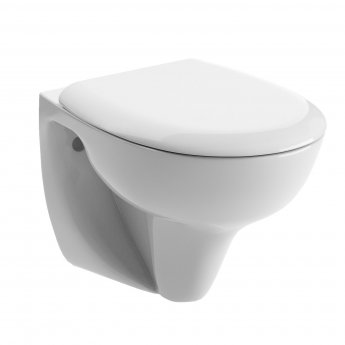 Signature Zeus Wall Hung Toilet - Soft Close Seat
