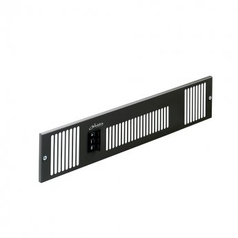 Smiths Space Saver SS2E W Black Grille 500mm