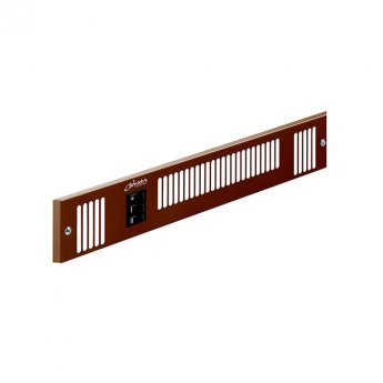 Smiths Space Saver SS80E W Brown Grille 460mm