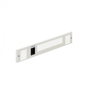 Smiths Space Saver SS80E W White Grille 460mm