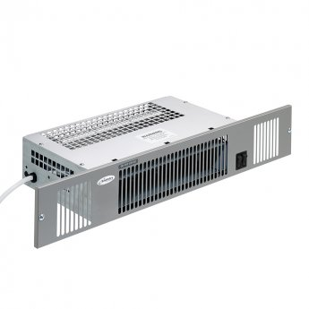 Smiths Space Saver SS3E Electric Fan Convector Plinth Heater - White Steel Grille