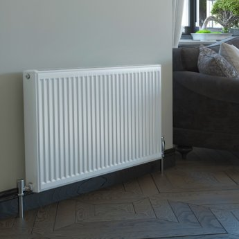 Stelrad Softline Compact Radiator 600mm H x 1200mm W Double Convector