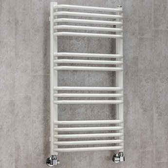 S4H Apsley Heated Towel Rail 1300mm H x 600mm W - RAL