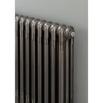 S4H Cornel 3 Column Vertical Radiator 1800mm H x 519mm W - 11 Sections - Lacquer