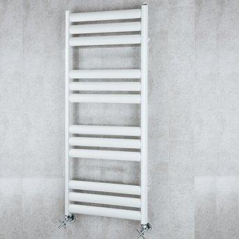 S4H Tallis Ladder Towel Rail 1060mm H x 500mm W - White