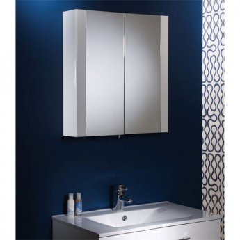 Tavistock Detail Bathroom Cabinet 650mm H x 600mm W White