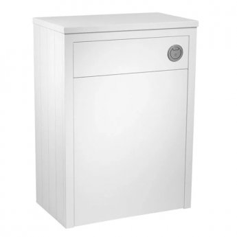 Tavistock Lansdown Back to Wall WC Toilet Unit 600mm Wide Linen White