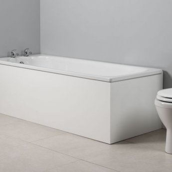 Tavistock Meridian MDF Front Bath Panel 520mm H x 1700mm W - White