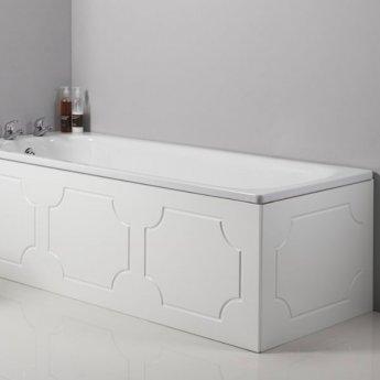 Tavistock Milton MDF Front Bath Panel 515mm H x 1700mm W - White