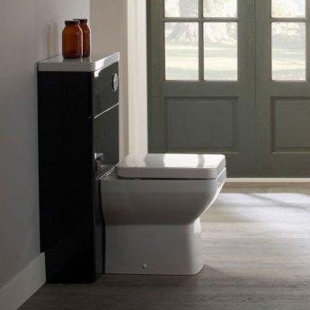Tavistock Q60 Back to Wall WC Toilet Unit 500mm Wide Graphite