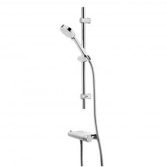 Tavistock Quantum Shelf Bar Shower Mixer with Shower Kit - Chrome
