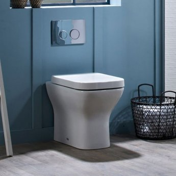 Tavistock Structure Back to Wall Toilet WC 515mm Projection - Soft Close Seat