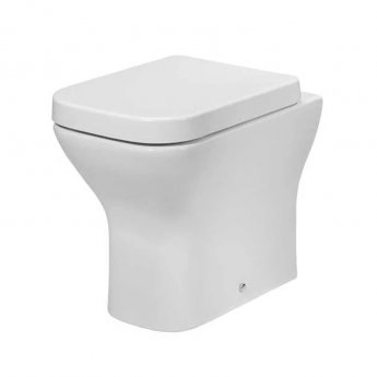 Tavistock Structure Back to Wall Toilet 345mm W - Soft Close Slimline Seat