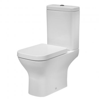 Tavistock Structure Close Coupled Toilet with Dual Flush Cistern - Soft Close Seat