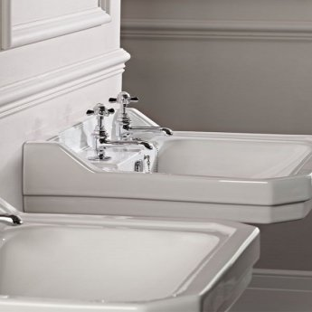 Tavistock Varsity Basin Taps, Pair, Chrome