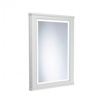 Tavistock Vitoria Illuminated LED Bathroom Mirror 600mm Wide - Linen White