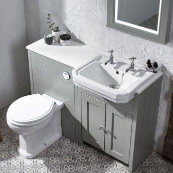 Tavistock Vitoria Back To Wall Toilet WC - Soft Close White Seat