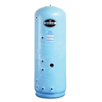 Telford Stainless Steel Vented DIRECT Solar Cylinder 900mm x 450mm 125 LITRES