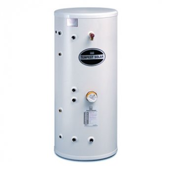 Telford Tempest Stainless Steel Unvented DIRECT Solar Cylinder 1330mm x 554mm 250 LITRES