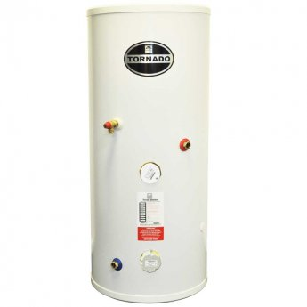 Telford Tornado 3.0 Stainless Steel Direct Unvented Hot Water Cylinder 1550mm x 580mm 200 Litres