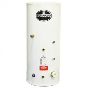Telford Tornado 3.0 Stainless Steel Indirect Unvented Hot Water Cylinder 1550mm x 580mm 200 Litres