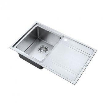 The 1810 Company Bordouno 800i 1 Bowl Kitchen Sink - Left Handed