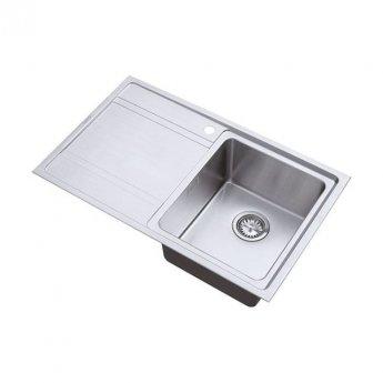 The 1810 Company Bordouno 800i 1 Bowl Kitchen Sink - Right Handed